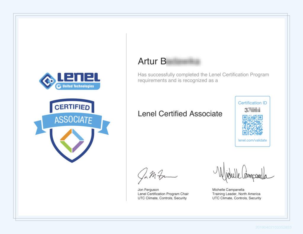 Lenel_Certified_Associate